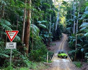 4WD Jeep Hire, Overnight – Sunshine Coast