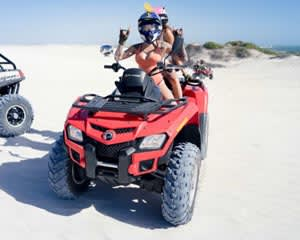 Quad Bike Tour and Sandboarding - Lancelin