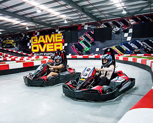 Go Karting, Laser Tag & Indoor Climbing - Gold Coast