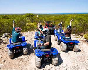 All Terrain Quad Bike Adventure, 2 Hours – Kangaroo Island