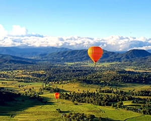Hot Air Ballooning with Breakfast – Gold Coast Hinterland