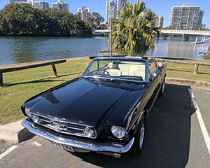 Mustang GT350 Convertible Full Day Hire - Sydney