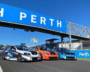 V8 Race Car Drive, 6 Laps - Perth
