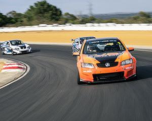 V8 Race Car Ride, 3 Back Seat Hot Laps - Perth
