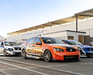 V8 Race Car Drive 7 Lap Combo Ride and Drive - Perth