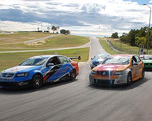 V8 Race Car 9 Lap Combo Ride and Drive - Perth