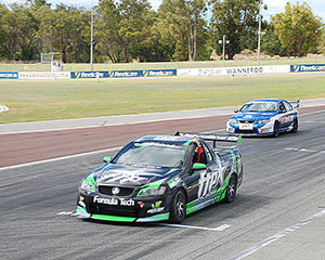 V8 Race Car 11 Lap Combo Ride and Drive - Perth