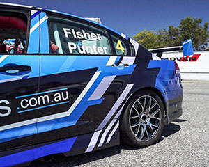 V8 Race Car Drive 15 lap combo Ride and Drive, with Video - Perth