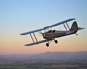 Flying Lesson in a Tiger Moth Biplane, 30 Minutes - Yarra Valley