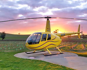 Helicopter Flight, Deluxe 30-minute Private Tour of the Barossa Valley - For 2