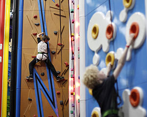 Indoor Climbing, SkyTrail High Ropes, Zip Line & GameWall - Berwick, Melbourne