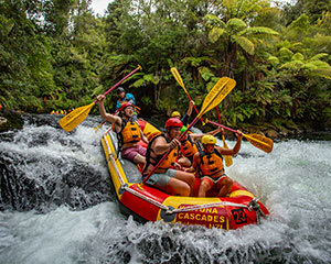White Water Rafting - Kaituna & Wairoa River, New Zealand