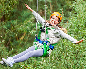 Forest High Ropes and Ziplining Adventure - Auckland