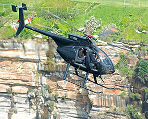 Private Black Ops Helicopter Mission For up to 4, 20 Mins - Sydney