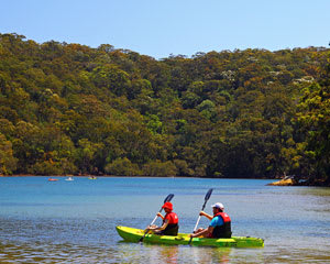 Kayak Hire, 1 Hour Self Guided Double Kayak Tour For Two, The Basin - Sydney