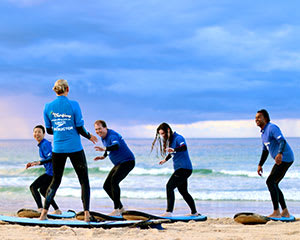 Beginner Surf Lesson, 2 Hours - Lennox Head