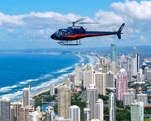 Helicopter Scenic Flight, 5 Minutes - Surfers Paradise - For 2