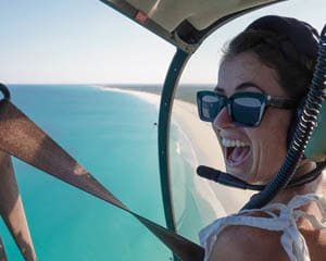 Helicopter Flight, 30 Minutes - Broome for 2