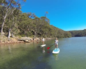 SUP Boarding Lesson & Hire, 2 Hours - Basin Campground, Sydney
