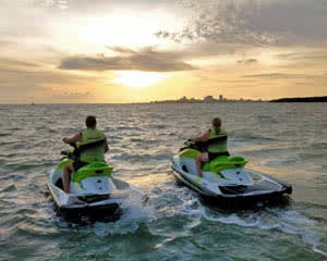Sunrise Jet Ski Tour, 90 Minute - Darwin