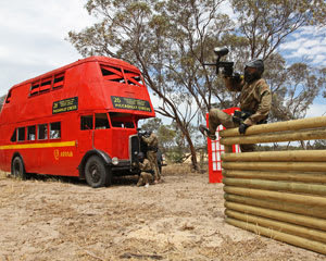 Paintball Half Day Games & 100 Paintballs - Adelaide