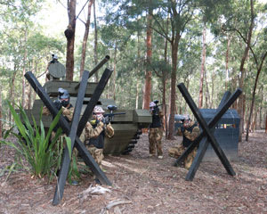 Paintball Half Day Games & 100 Paintballs - Newcastle