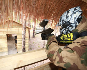 Paintball Half Day Games & 800 Paintballs - Newcastle