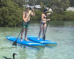 SUP Board Hire, 2 Hours - Mossy Point, Batemans Bay