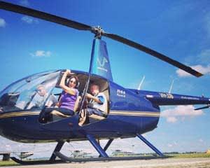Doors Off Helicopter Flight - Brisbane City - For 3
