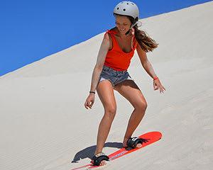 Sandboard or Toboggan Hire, 2 Hours - Kangaroo Island