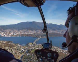 Helicopter Flight, 30 Minutes - Hobart
