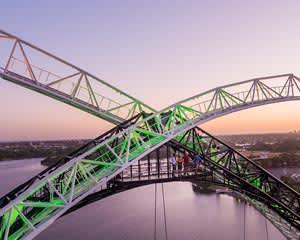 Perth Bridge Twilight Climb, 90 Minutes - Perth
