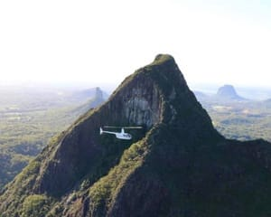 Glasshouse Mountains Private Helicopter Flight, 30 Minutes - For 2