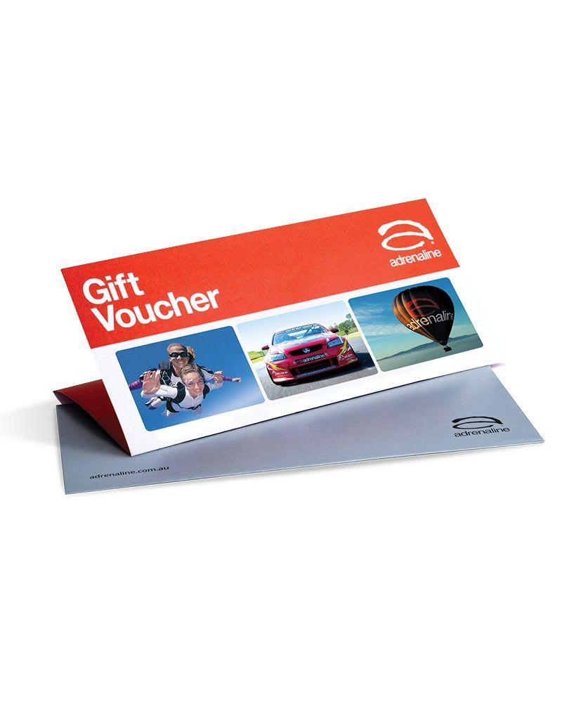 Adrenaline Gift Vouchers