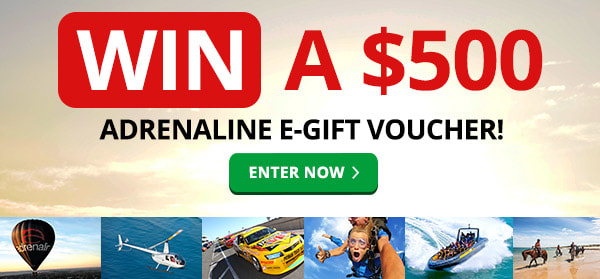 Win a $500 Adrenaline eGift Voucher!