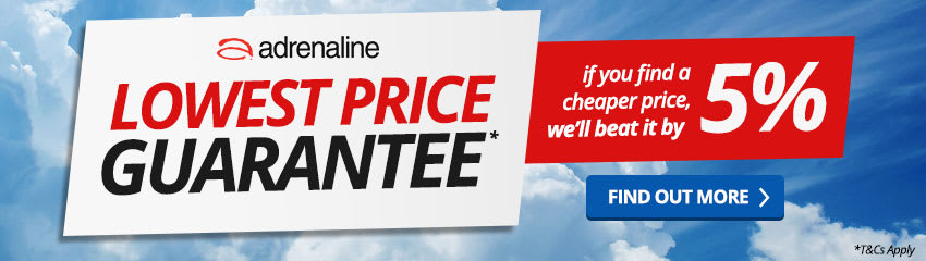 Adrenaline Lowest Price Guarantee