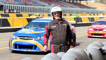 V8 hot laps driver audition