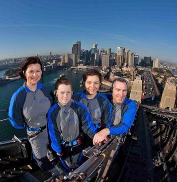 Dad who has everything Sydney Bridge Climb