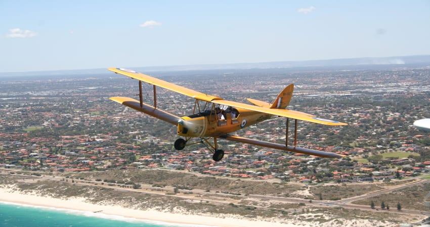 Tiger Moth Scenic Flight, 30 Minutes - Perth