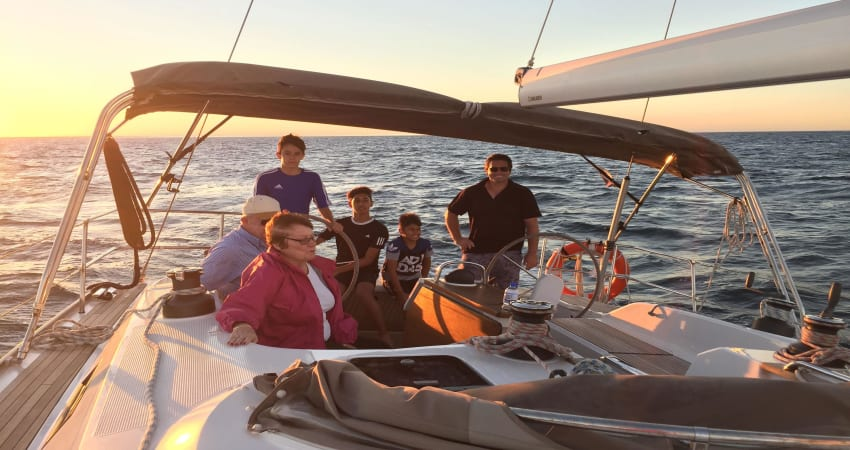 Private Sailing Cruise around Rottnest Island - For up to 12