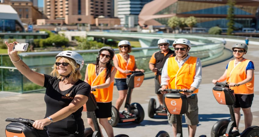 Riverbank Segway Tour, 60 Minutes - Adelaide