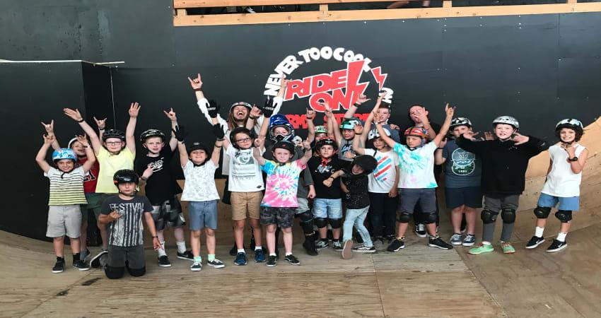Private Indoor BMX Lesson for kids, Melbourne