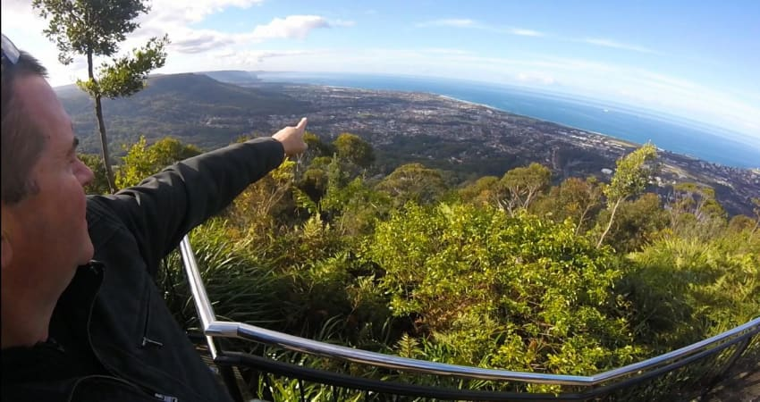 3 Hour South Coast Sidecar Tour - Wollongong