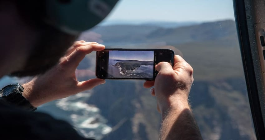 Tasman Island Scenic Helicopter Flight For 2, 30 Minutes - Port Arthur