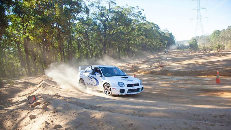 Rally Driving, Subaru WRX 6 Laps - Willowbank, Brisbane - 2 for 1 Offer