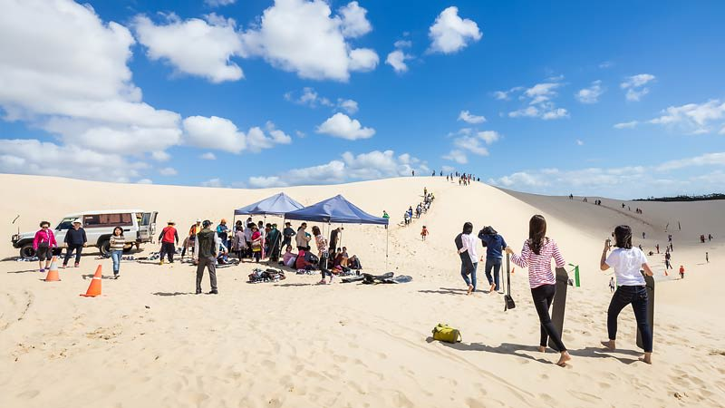 Sandboarding & 4WD Tour - Stockton Sands, Port Stephens