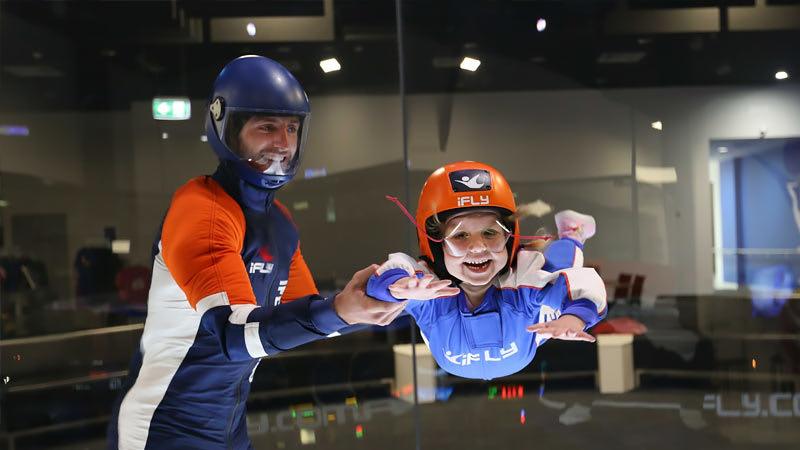 iFLY Indoor Skydiving Group Package, 10 Weekend Flights - Perth