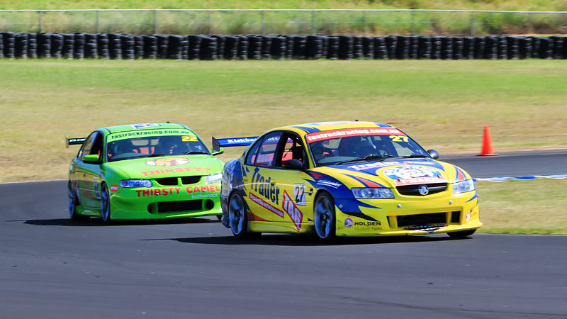 V8 Drive & Hot Lap Combo, 8 Laps - Barbagallo, Perth