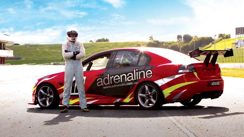 V8 Race Car Ride (FRONT SEAT!) - 3 Laps - Sandown Raceway, Melbourne