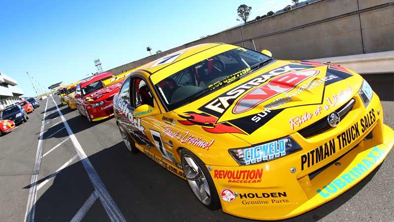 V8 Drive & Front Seat Hot Laps, 7 Lap Combo - Sandown Raceway, Melbourne